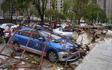 Video: Cảnh tượng siêu bão Lekima tàn phá Trung Quốc