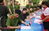 """Hà Nội: Hơn 1.000 cán bộ, chiến sỹ tham gia hiến máu """"nghĩa tình vì đồng đội thân yêu"""""""
