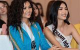 Hoa hậu H'Hen Niê gây bất ngờ với mái tóc xù, quần ống loe thổ cẩm