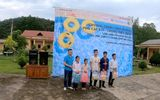 Chương trình thiện nguyện phổ cập bơi cho trẻ em vùng cao biên giới