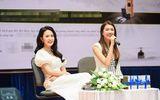 """Tin tức giải trí - Hai người đẹp Lệ Hằng, Minh Trang đọ sắc, kể về """"sóng gió"""" nghề nghiệp"""