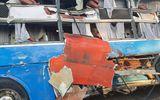 Tin trong nước - Hiện trường vụ va chạm giữa 2 xe khách khiến hơn 40 người thương vong: Đầu xe vỡ nát, hành khách la hét