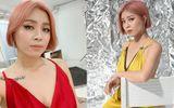 """MC Hoàng Linh nhuộm tóc hồng rực, khoe ảnh gợi cảm nhưng khẳng định không """"nổi loạn"""""""