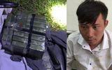 Pháp luật - Bắt quả tang đối tượng vận chuyển 10 bánh heroin lúc nửa đêm