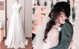 Cô gái xinh đẹp tự tay may váy cưới cho mình khiến dân mạng phục sát đất