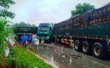 Tin trong nước - Nghệ An: Hai xe đầu kéo đối đầu, người dân phá cabin cứu tài xế