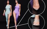 """Xuất hiện """"ngón chân thứ 6"""" tố lỗi photoshop trong ảnh của chị em nhà Kardashian"""