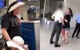 """Tin trong nước - Trần tình của nữ đại úy """"đại náo"""" sân bay: """"Cô ta đã xúc phạm con tôi"""""""