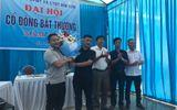 Thanh Hóa: Công ty CP Môi trường và Công trình Đô thị Bỉm Sơn họp cổ đông bất thường