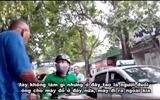 """Video: Xe ôm """"bảo kê"""" trước cổng bệnh viện Nhi Trung ương, hành hung tài xế xe ôm công nghệ"""
