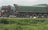 Nghệ An: Xe máy va chạm ô tô tải, vợ tử vong, chồng nguy kịch