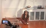Lộ clip Quỳnh Nga bị đánh bầm dập, tả tơi trong phim mới