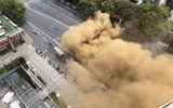 Trung Quốc: Sập hầm tàu điện ngầm nghiêm trọng, hàng loạt hộ dân phải sơ tán