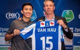 Đoàn Văn Hậu ra mắt Heerenveen với phát biểu cực hot