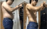 Chỉ luyện tập 4 phút mỗi ngày, thầy giáo Nhật Bản sở hữu cơ bụng 6 múi đáng ngưỡng mộ