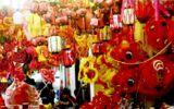 Đồ chơi truyền thống lên ngôi, phủ đỏ phố Hàng Mã trước thềm Tết Trung thu