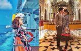 Tiểu thư nhà giàu Lê Giang khoe cuộc sống hạnh phúc bên người yêu điển trai