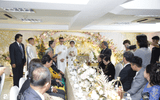 Toàn cảnh đám cưới xa hoa của con gái đại gia Minh Nhựa