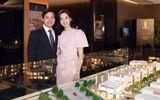 Hoa hậu Đặng Thu Thảo dịu dàng thanh lịch sánh đôi cùng ông xã Trung Tín