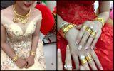 Bộ ảnh cô dâu miền Tây đeo vàng trĩu nặng trong đám cưới bất ngờ gây sốt trở lại