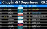 Tin trong nước - Sân bay Tân Sơn Nhất chính thức ngừng phát thanh thông tin chuyến bay từ ngày 1/10
