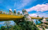 Truyền thông - Thương hiệu - Vi diệu Cầu Vàng Bà Nà Hills tại nhiều thời điểm trong ngày