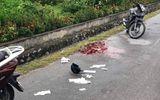 Quảng Ninh: Đang đi xe máy trên cầu Bãi Cháy, một phụ nữ bất ngờ bị kẻ lạ mặt đâm trọng thương