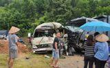 Tin tức tai nạn giao thông mới nhất hôm nay 20/9/2019: Xe khách đấu đầu xe tải, 6 người bị thương