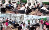 Xã hội - Ông chủ salon tóc và niềm đam mê bất tận với cây kéo
