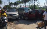 Tin tức tai nạn giao thông mới nhất hôm nay 23/9/2019: Hai ô tô va chạm trên đường, lái xe tử vong bên trong