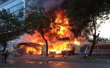 Hải Phòng: Đang cháy lớn tại siêu thị điện máy trên đường Lê Hồng Phong