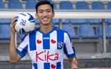 Đoàn Văn Hậu xử lý khéo léo đánh bại thủ môn Heerenveen