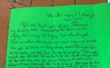 Ứa nước mắt với bức thư của cậu bé lớp 5 viết cho mẹ đã đi bước nữa