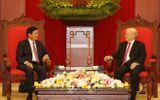 Tổng Bí thư, Chủ tịch nước Nguyễn Phú Trọng tiếp Thủ tướng Lào thăm chính thức Việt Nam