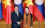 Chủ tịch Quốc hội Nguyễn Thị Kim Ngân hội kiến Thủ tướng Lào Thongloun Sisoulith