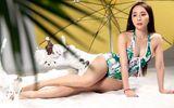 """Quỳnh Nga gây sững sờ vì body mướt mắt khi tung bộ ảnh bikini """"trái mùa"""""""