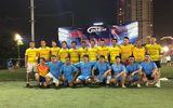 Báo Đời sống& Pháp luật giao hữu bóng đá với CLB Gold Star