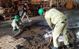 Binh chủng Hoá học hoàn tất việc tẩy độc tại công ty Bóng đèn Phích nước Rạng Đông