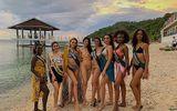 Hoa hậu Phương Khánh diện bikini gợi cảm đọ sắc với dàn người đẹp quốc tế