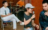 Nhạc sĩ Hồ Hoài Anh, Khắc Hưng cùng Khắc Việt tập luyện tới đêm vì liveshow