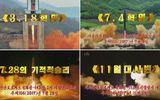 Triều Tiên bất ngờ phát sóng phim tư liệu về phát triển tên lửa đạn đạo