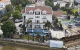 Siêu biệt thự trăm tỷ ven sông Sài Gòn của bố chồng Hà Tăng