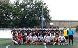 Giao hữu bóng đá giữa Báo Đời sống & Pháp luật và Đội CSGT 15