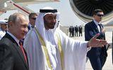 """""""Choáng"""" trước màn đón tiếp hoành tráng của UAE dành cho Tổng thống Putin"""