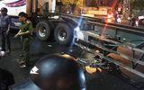 Tin trong nước - Đà Nẵng: Va chạm khiến cụ ông đi xe đạp tử vong tại chỗ, tài xế container nhanh chóng rời khỏi hiện trường