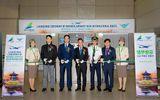 Truyền thông - Thương hiệu - Bamboo Airways đón chuyến bay khai trương đường bay bổ sung kết nối Việt Nam – Hàn Quốc