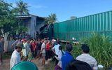 Tin trong nước - Xe container bất ngờ đâm vào nhà dân, một người tử vong