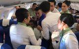Nữ hành khách bị co giật, cắn lưỡi trên chuyến bay của Bamboo Airways