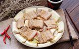 Chán luộc, đem thịt heo hấp theo cách này mềm ngọt vô đối, ai ăn cũng mê