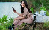 Hoa hậu Tiểu Vy khoe vẻ đẹp tuổi 19 trên cao nguyên M'drak